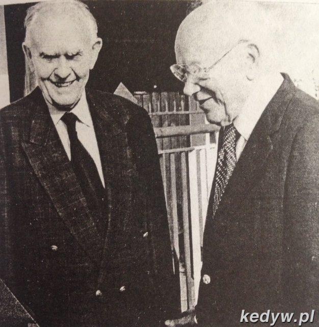 dr Eugeniusz Matulewicz i dr Stanislaw Matulewicz.
