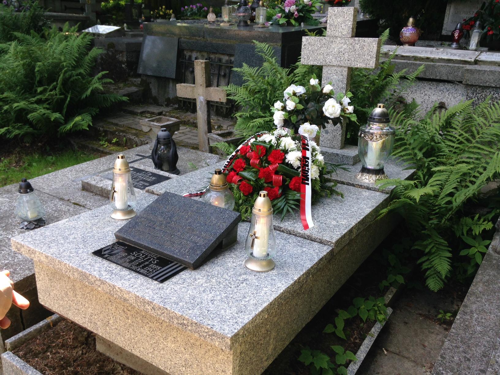 """72 rocznica śmierci """"Cichociemnego"""" Stanisława Sołtysa ps. """"Sowa"""", """"Wójt""""."""